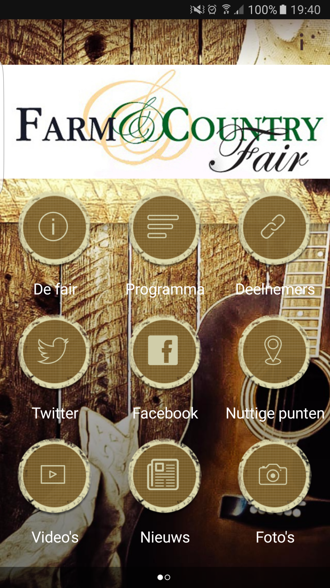 De Farm&Country Fair app