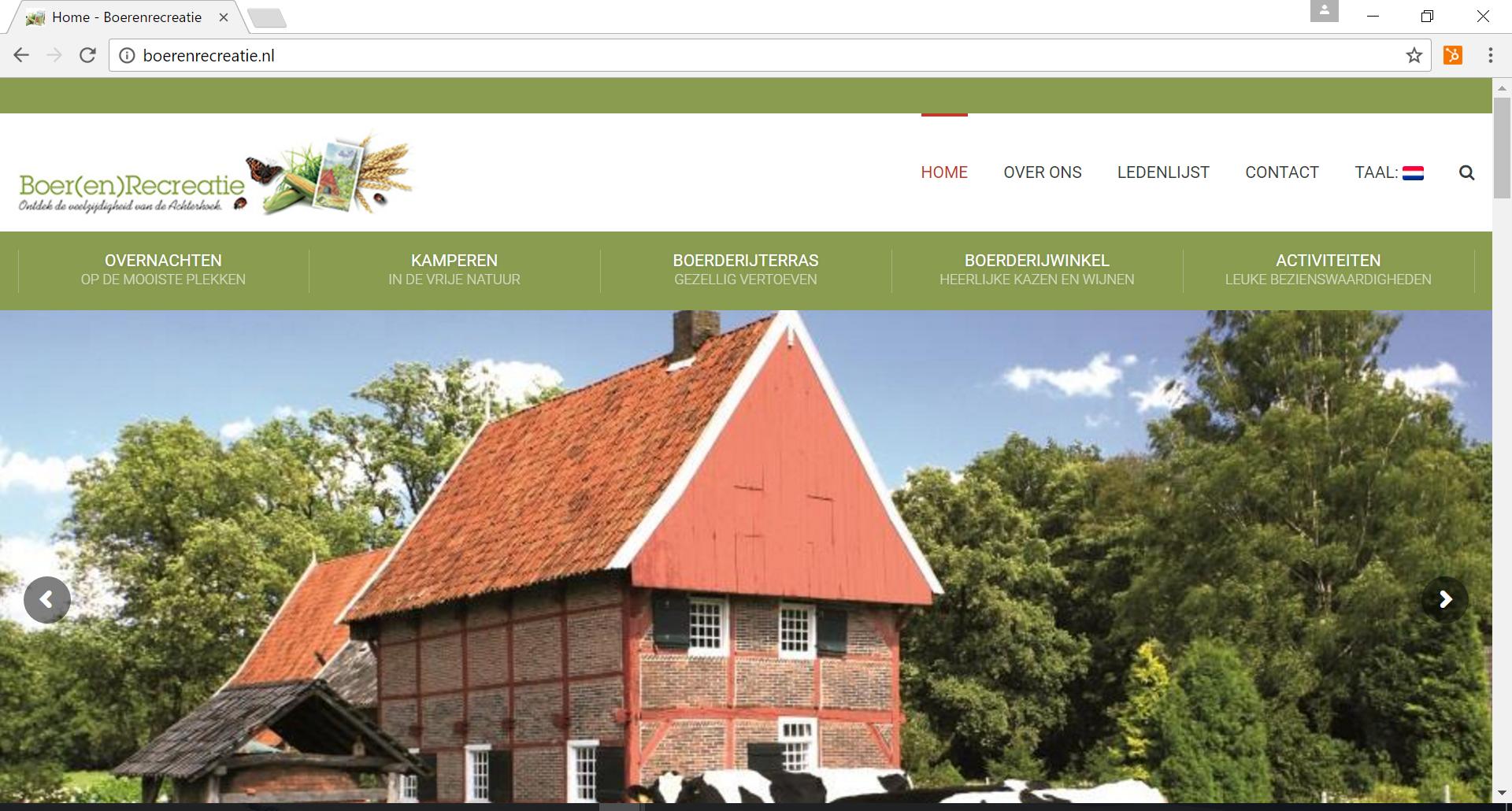 Boerenrecreatie is een vereniging van Winterswijkse buiten-accommodaties.
