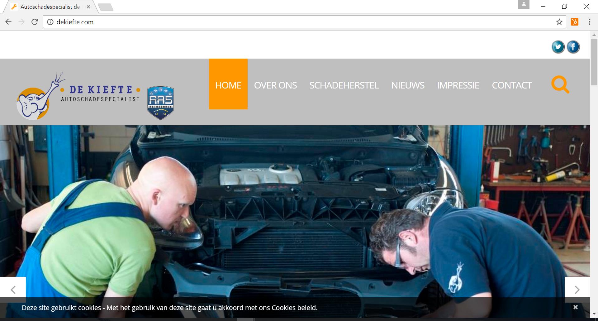 Autoschade herstelbedrijf De Kiefte