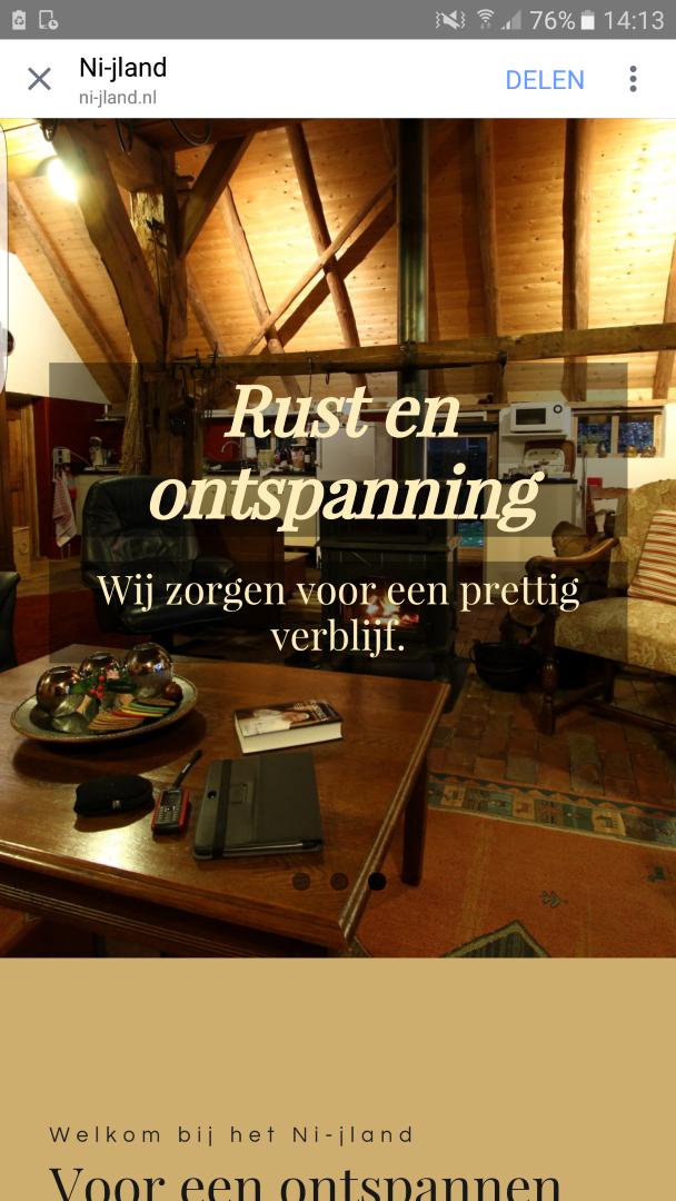 Vakantiewoning het Ni-jland uit Winterswijk Woold