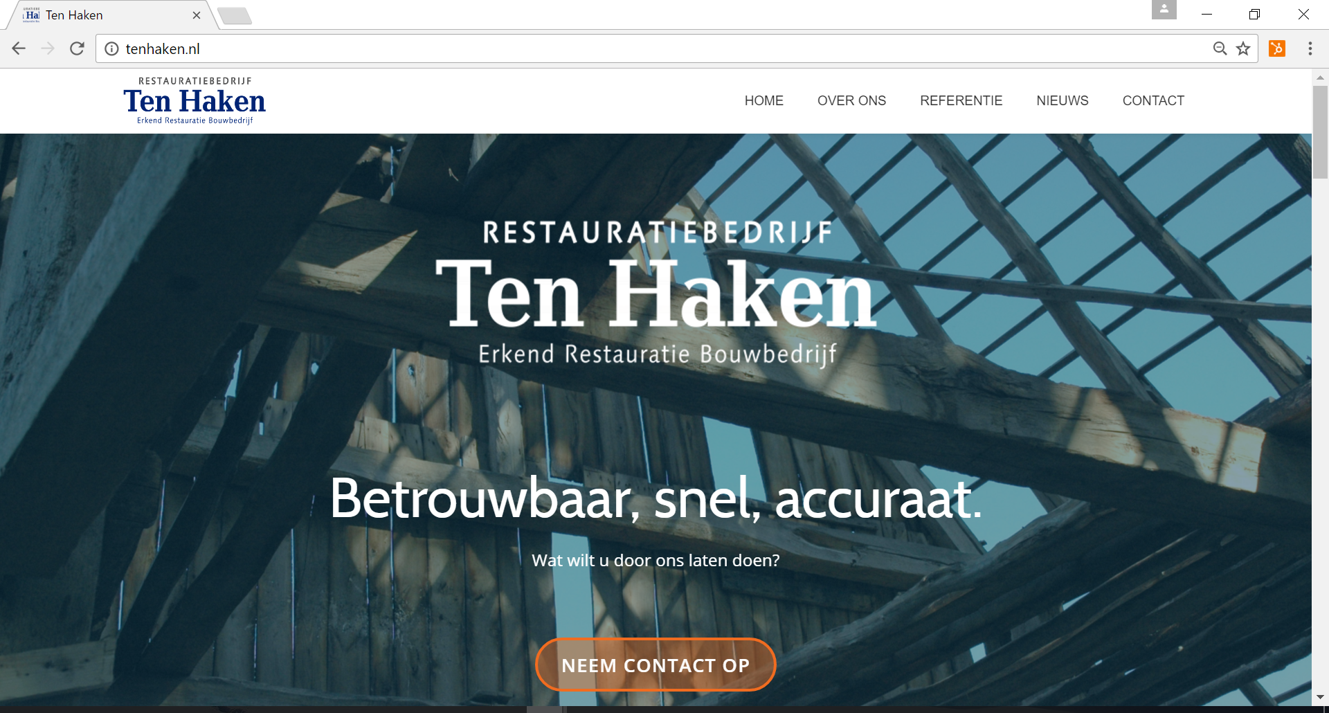 Restauratie bedrijf Ten Haken
